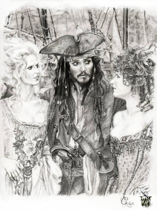 Johnny Depp by C@ssie